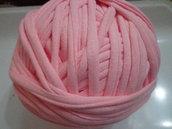 Fettuccia cotone rosa confetto