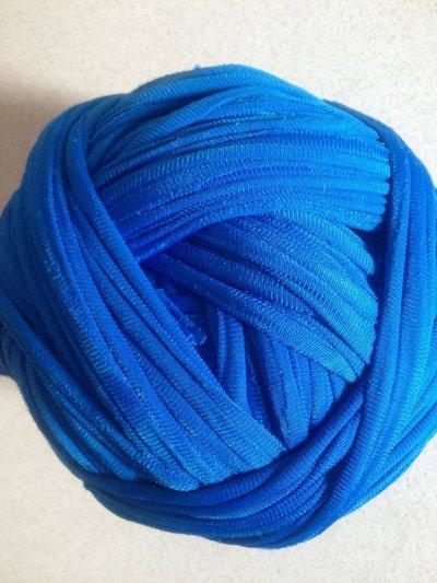 Fettuccia nylon (piattina) bluette per borse