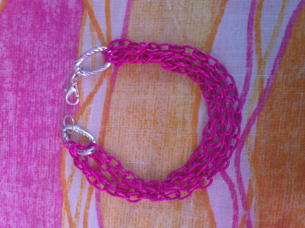 bracciale con multicatena