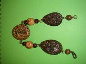 braccialetto stile etnico in fimo fatto a mano