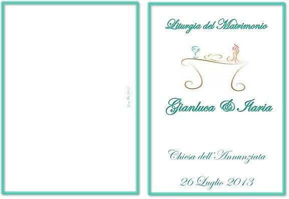 Libretto Matrimonio Rito Romano Word : Libretto messa rito religioso feste matrimonio di