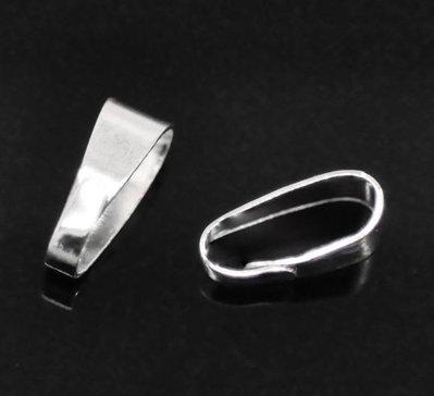 gancio per per pendente apribile silver