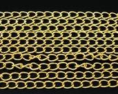 Catena per Bigiotteria Dorato 5.5x3.5mm