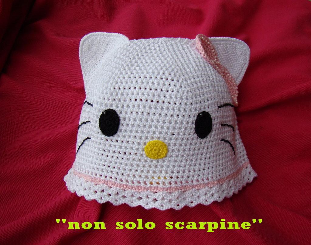"Cappello per bimba ""hello kitty"""