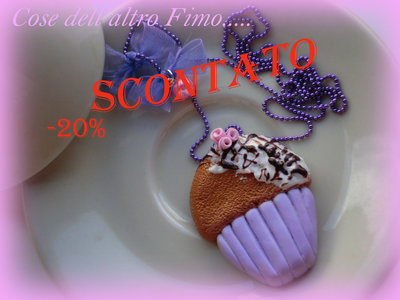 "Collana ""Summer Cupcake"""
