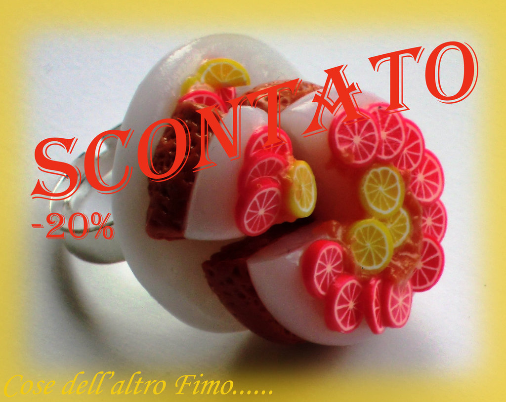 Anello Cheesecake Limone/Arancia