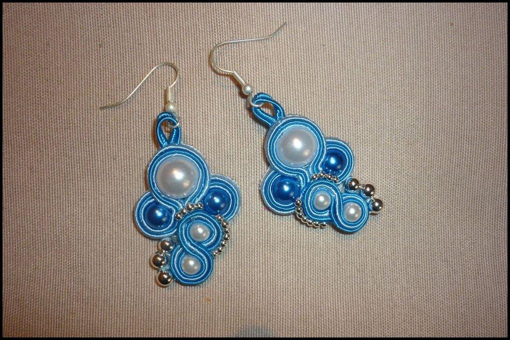 Orecchini delle Fate azzurri e bluette