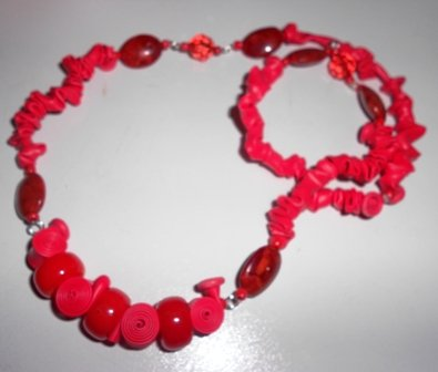 "Collana ""CANDY ROSSA"""
