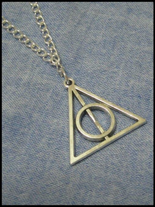"""Collana """"Doni della morte"""" di Harry Potter"""