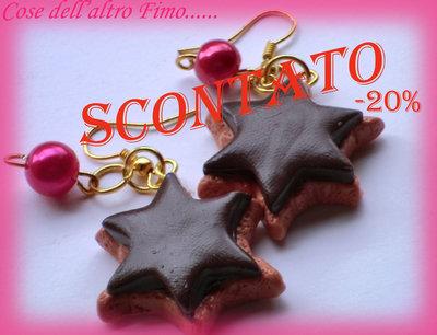 Orecchini CioccoBiscotto Stella