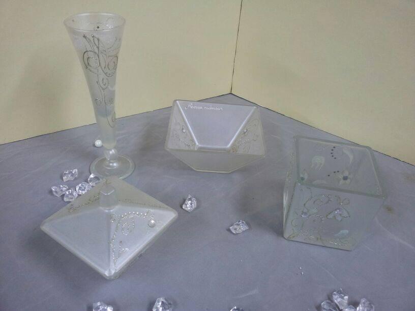 set piccoli oggetti decorativi