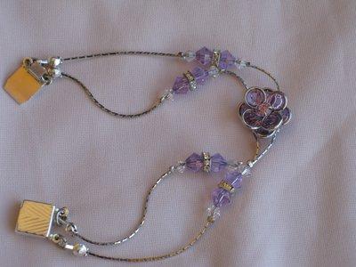 braccialetto fiore swarovski
