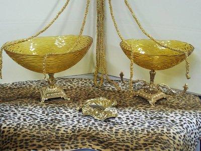 Centrotavola barocco oro