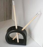 Portapenne o matite essenziale in ceramica