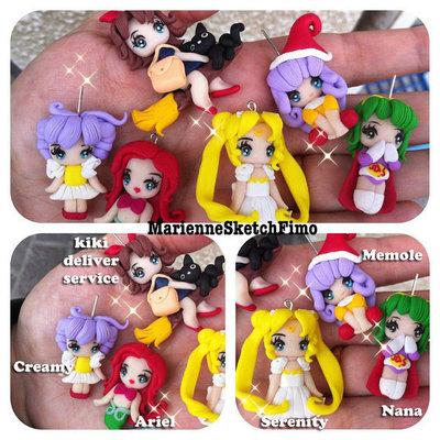 MiniFigure handmade anime manga fimo cernit