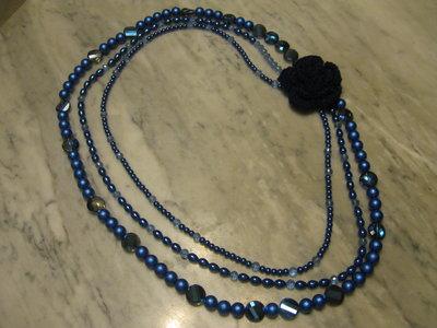 Le perle e l'uncinetto