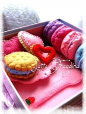 Un set di dolci assortiti per il Tea Party (Piccolo set)