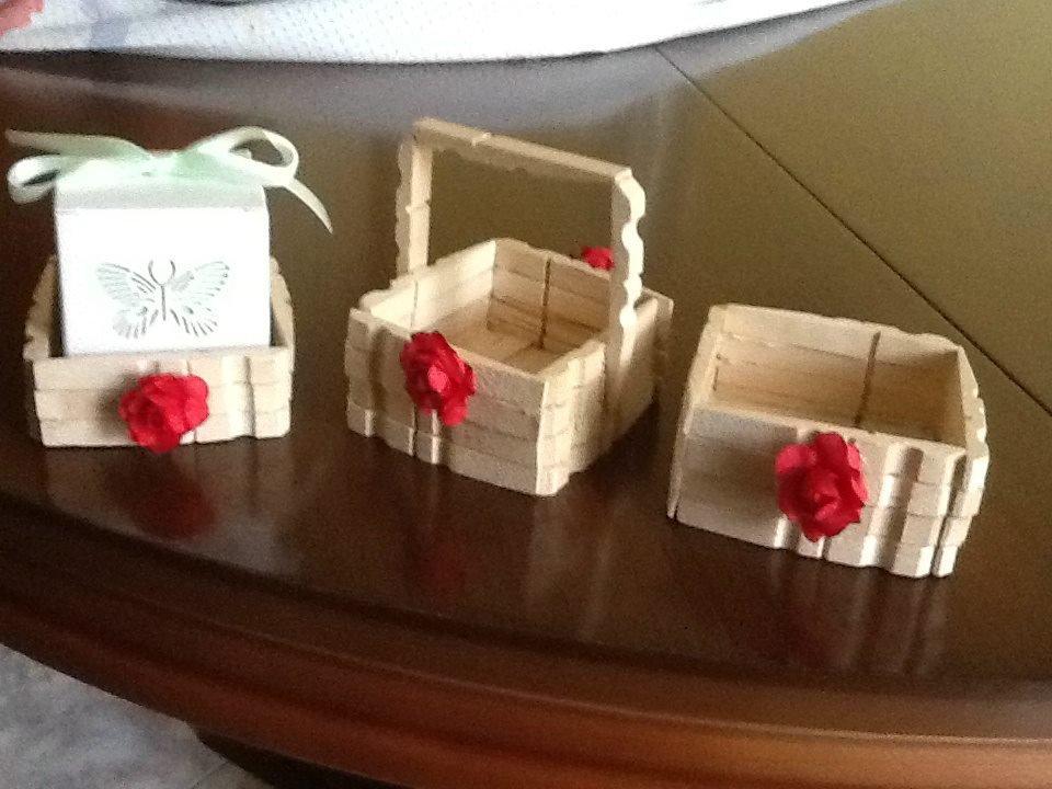 cestini in legno