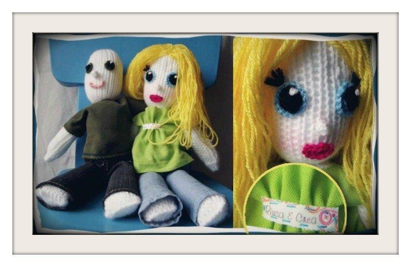 Per te o come regalo , la bambola che ti somiglia!