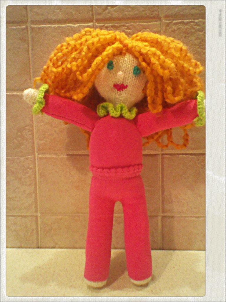 Bambola sbarazzina sock doll