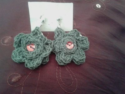 orecchini fiore di campo