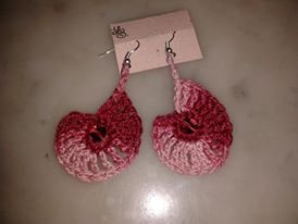 orecchini profumo di rosa