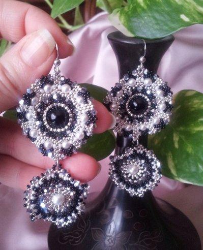 """Orecchini """"Silver Flowers"""""""