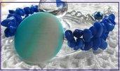 Bracciale profondo blu