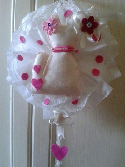 coccarda nascita femminuccia
