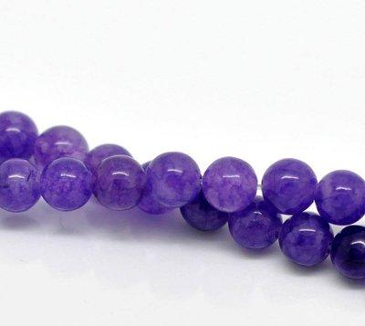 10 perle in ametista 6 mm scontato