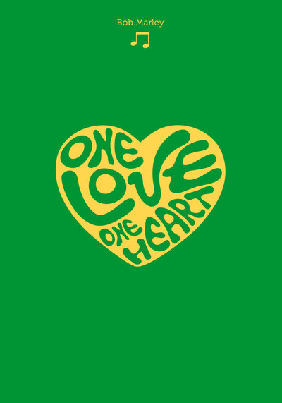 "Taccuino ""Codettes"" Love Songs a fogli neutri - Bob Marley"