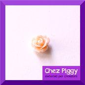 1 x cabochon roselline di resina - ROSA