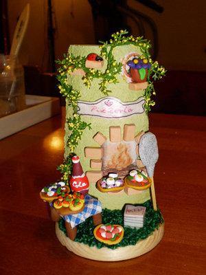 Tegole con miniature