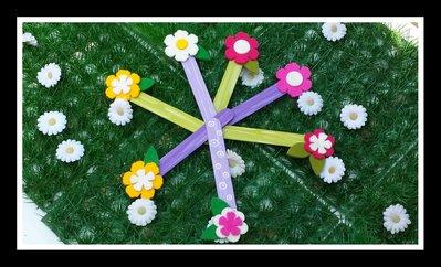 segnalibro fiore