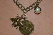 collana bronzo vintage