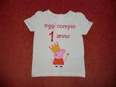 """maglietta """"buon compleanno"""" bambini - SU RICHIESTA"""