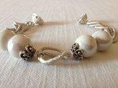 bracciale con pietre di ceramica