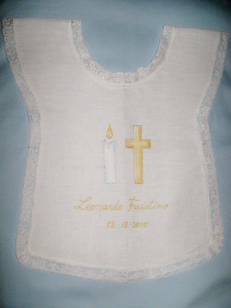 Camicino Battesimale Dipinto Su Misshobby