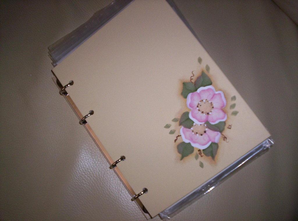 quaderno in legno con anelli