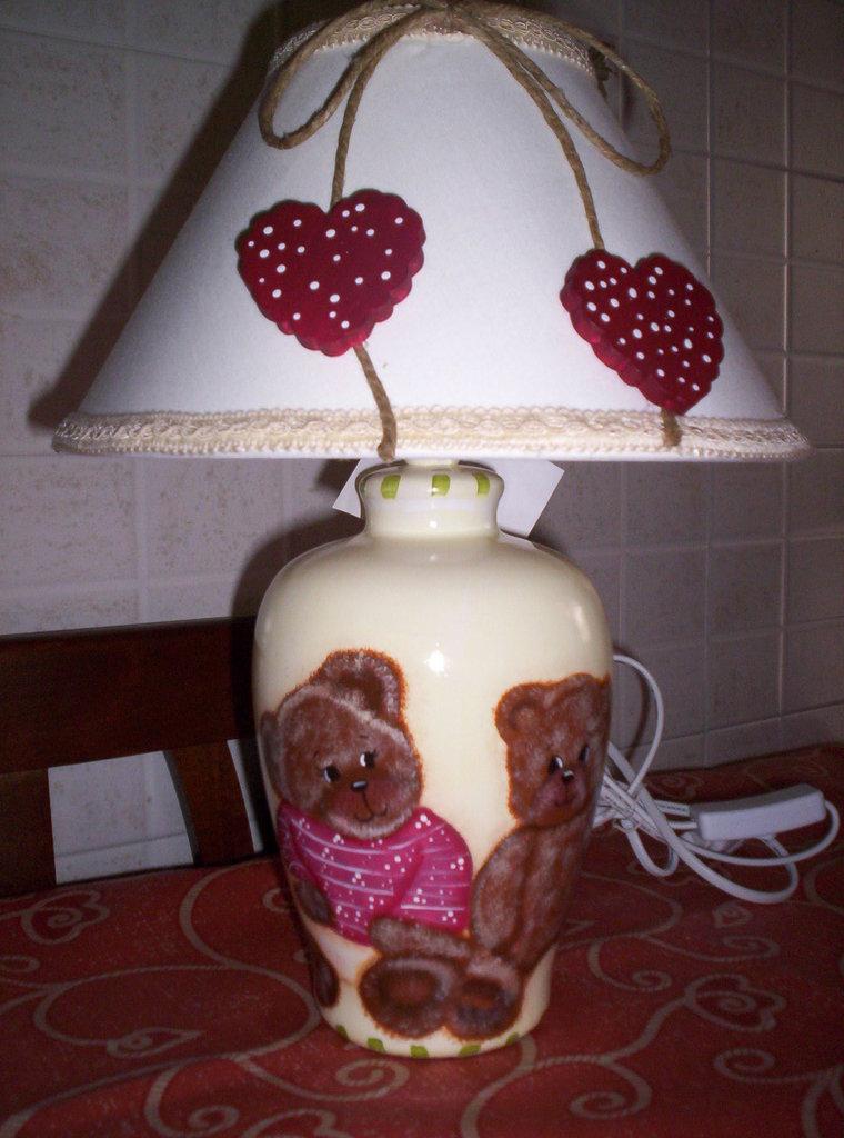 lampada orsetti....