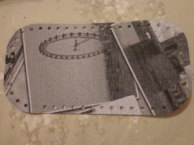 Fondi per borse tessuto London 28x15