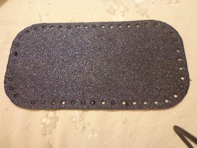 Fondi per borse jeans glitter 28x15