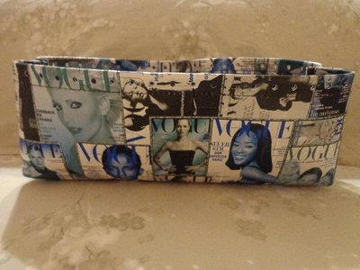 Fondi alti per borse ecopelle Vogue blu