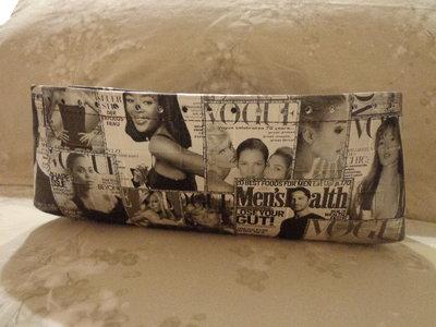 Fondi alti per borse ecopelle Vogue bianco/nero
