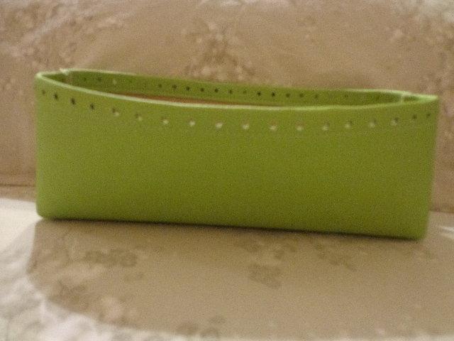 Fondi alti per borse ecopelle verde pistacchio