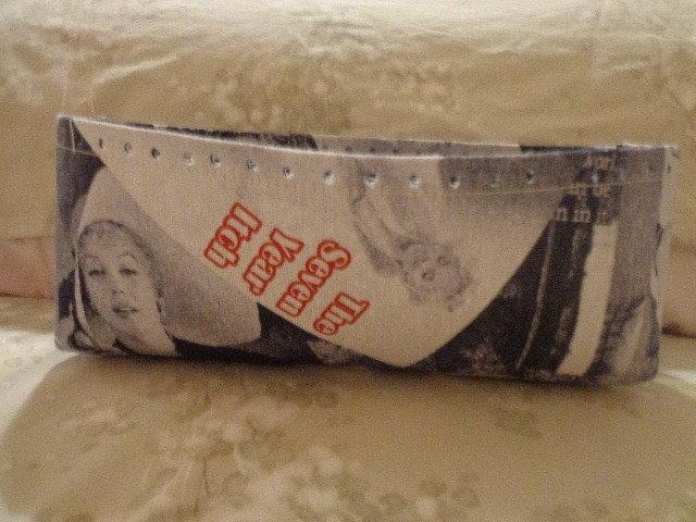 Fondi alti per borse tessuto stampa Marilyn