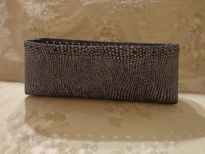 Fondi alti per borse tessuto jeans glitter