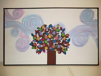 """quadro """"autunno"""" - 100x60"""
