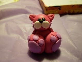 Gattino in Fimo
