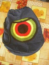 Sacca di jeans circle